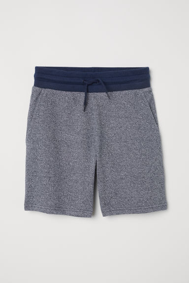 Shorts in felpa - Blu mélange - BAMBINO | H&M IT