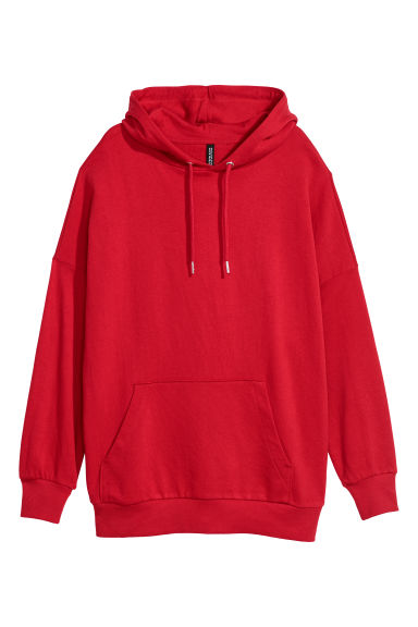 Hooded top - Red -  | H&M CN