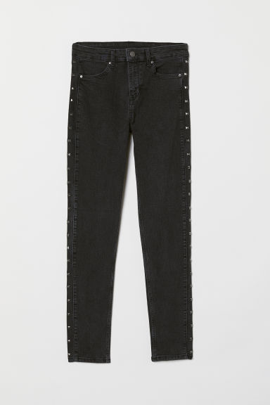 Skinny Regular Jeans - 深灰色 -  | H&M CN