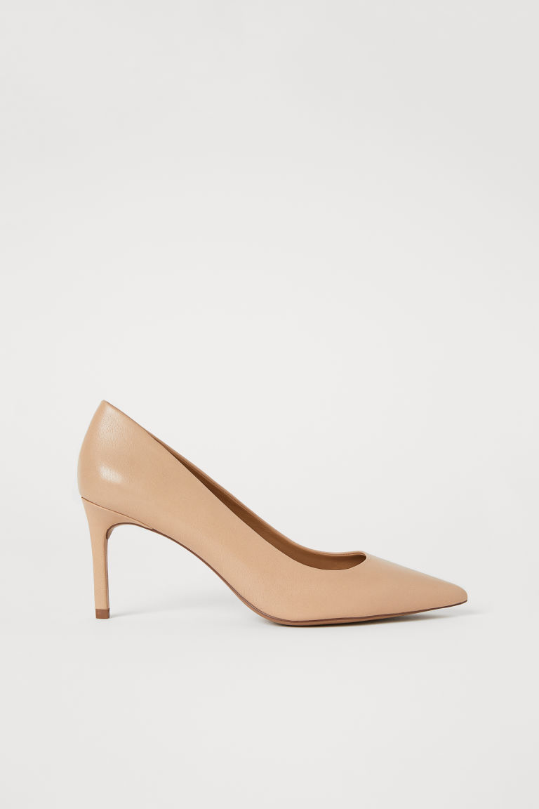 Pumps - Beige/leather - Ladies | H&M US