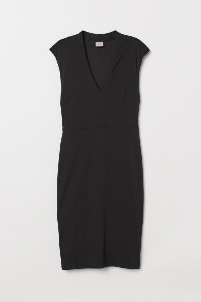 H&M - V-neck dress - 5