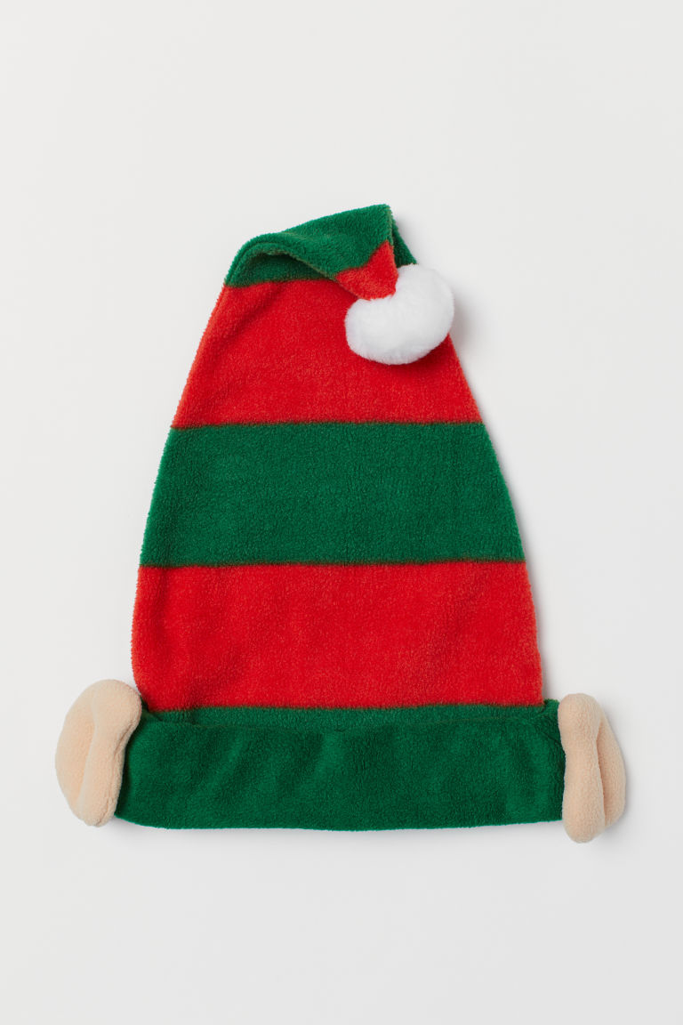 Elf hat - Green/Red - Kids | H&M