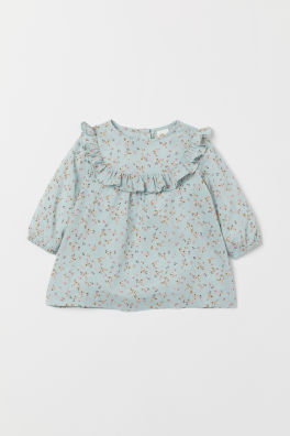 f7aefa07a85b6 Baby Girl Clothes | Age 4 Months to 4 Years | H&M GB