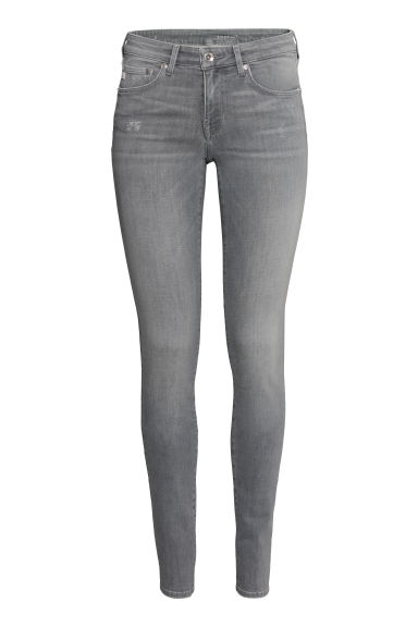 Shaping Skinny Low Jeans - Grigio chiaro - DONNA | H&M IT