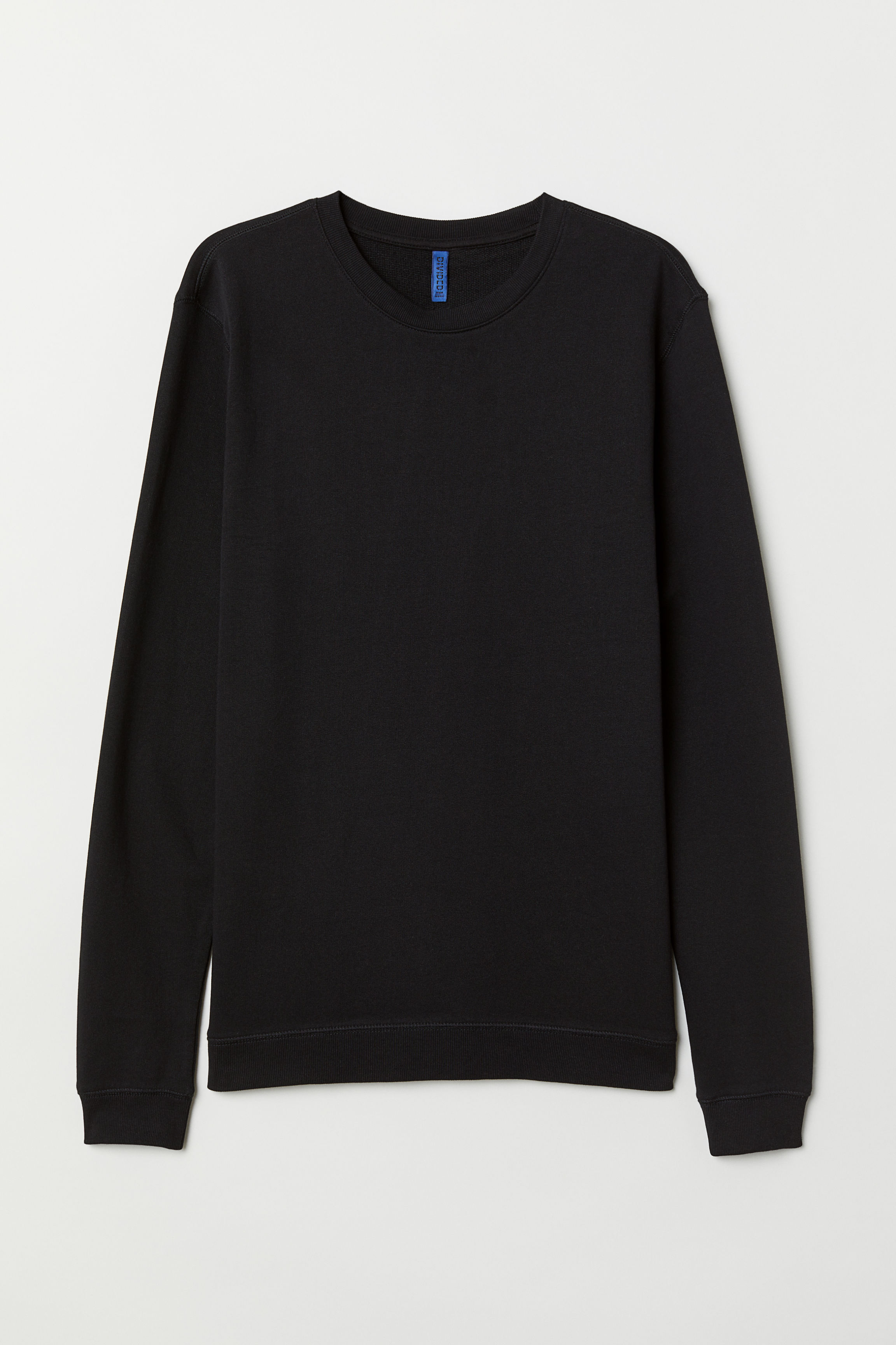 597059b6 Muscle Fit Sweatshirt - Black - Men | H&M US