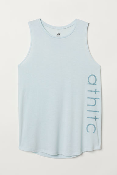 Sports top - Light turquoise - Ladies | H&M