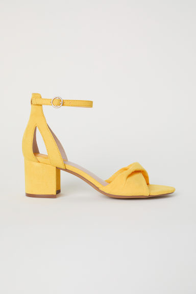 Sandals - Yellow - Ladies | H&M