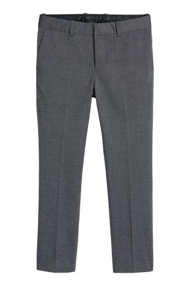 Suit trousers - Dark grey -  | H&M CN