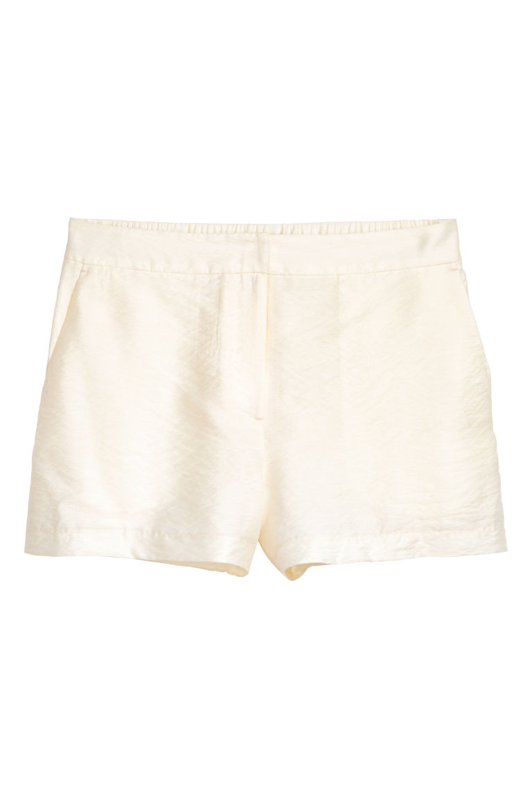 Shorts eleganti - Bianco naturale - DONNA | H&M IT