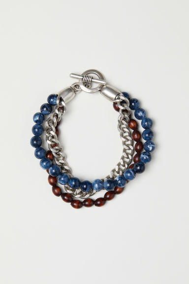 Multi-strand bracelet - Brown/Multicoloured - Men | H&M