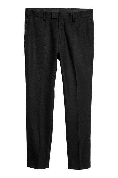 Suit trousers Skinny fit - Black -  | H&M