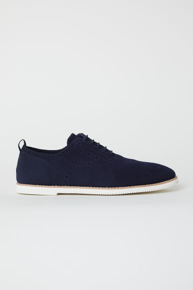 Oxfordschoenen - Donkerblauw - HEREN | H&M BE