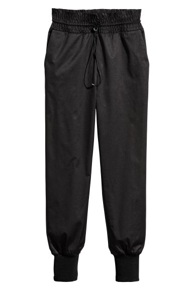 Petite joggers - Black - Ladies | H&M CN