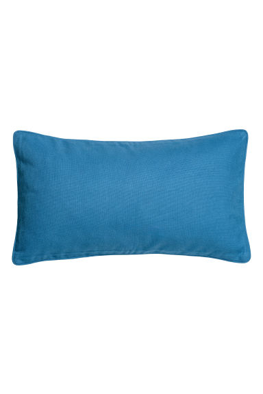 Cushion cover with piping - Blue - Home All | H&M CN
