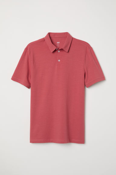Polo Slim fit - Rouge - HOMME | H&M FR