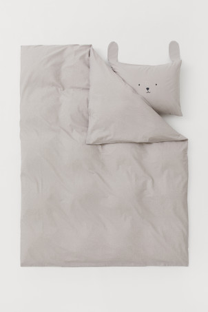 Patterned duvet cover setModal