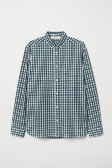 Poplin shirt Regular Fit