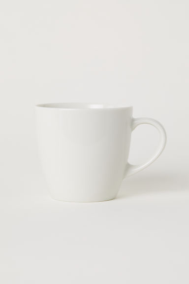 Porcelain Mug - White - Home All | H&M US