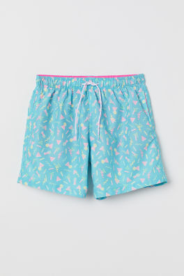 7e45e30308f Printed Swim Shorts