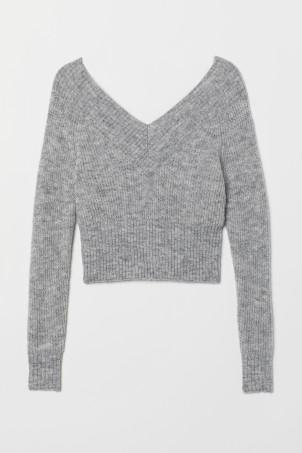 Off-Shoulder-Pullover