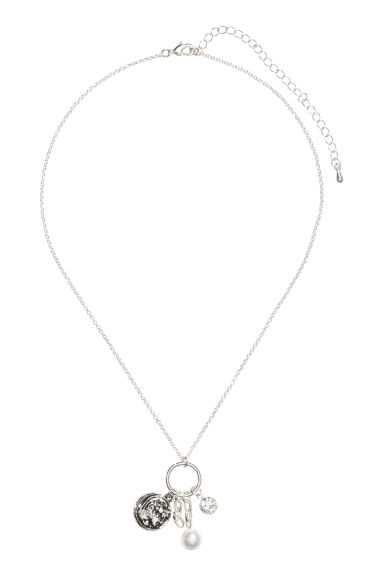 Necklace with pendants - Silver-coloured - Ladies | H&M IE