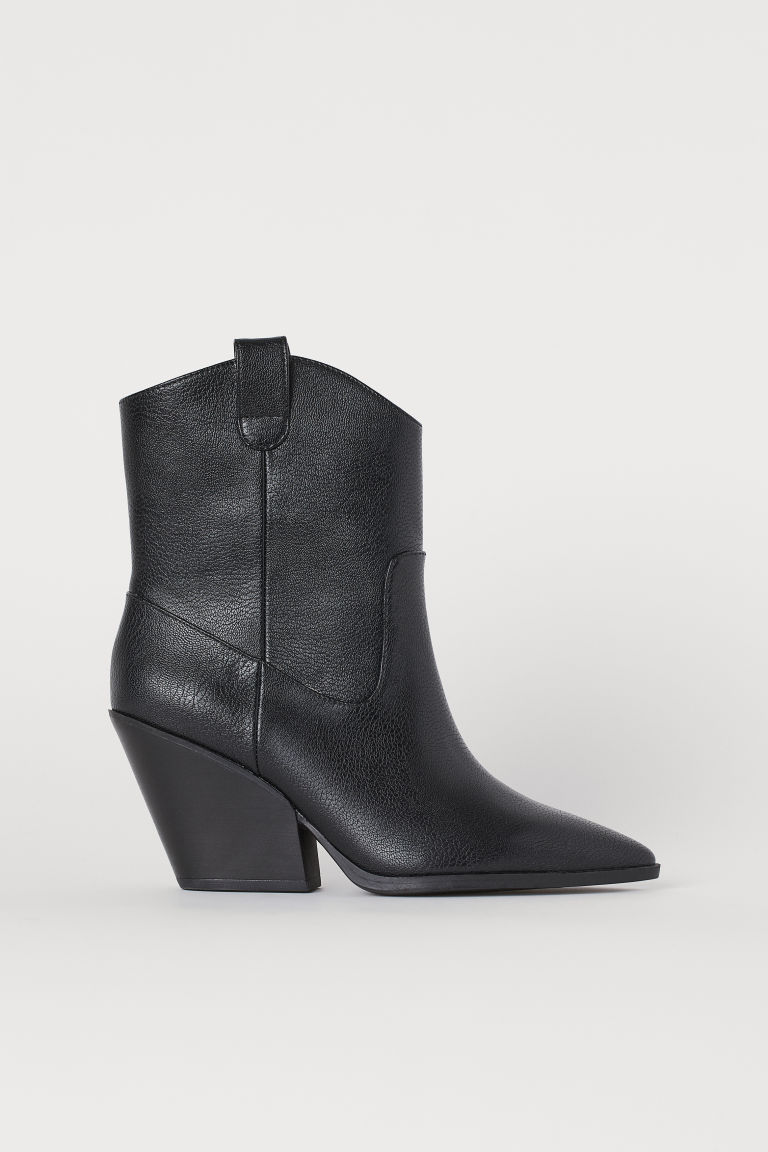 Boots with Pointed Toes - Black -  | H&M CA