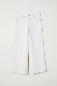 Denim culotte - High waist