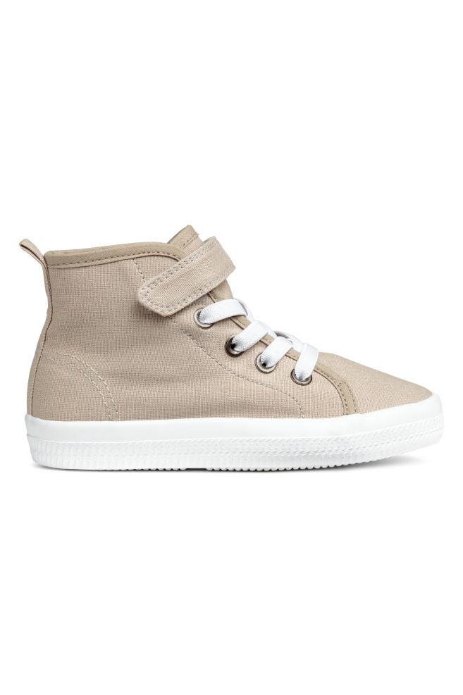 4f3934ae Płócienne buty sportowe - Jasnobeżowy - Dziecko | H&M ...