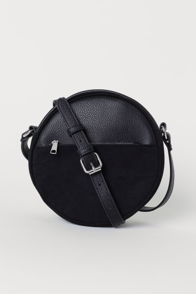 Round shoulder bag - Black - Ladies | H&M