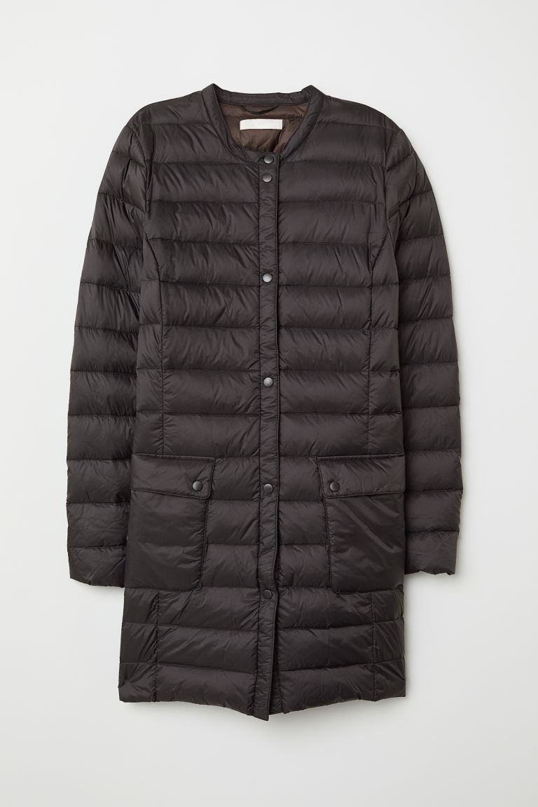Lightweight down coat - Black - Ladies | H&M