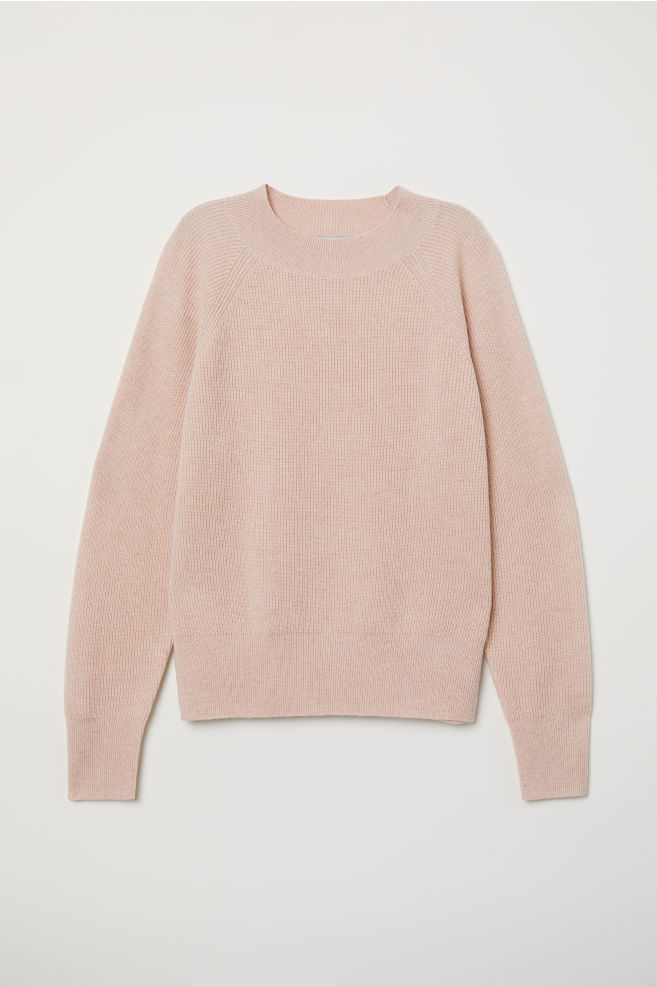 36d27a86812 Cashmere Sweater - Powder pink - Ladies