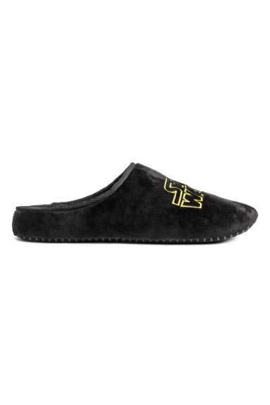 Soft slippers - Black/Star Wars - Men | H&M CN