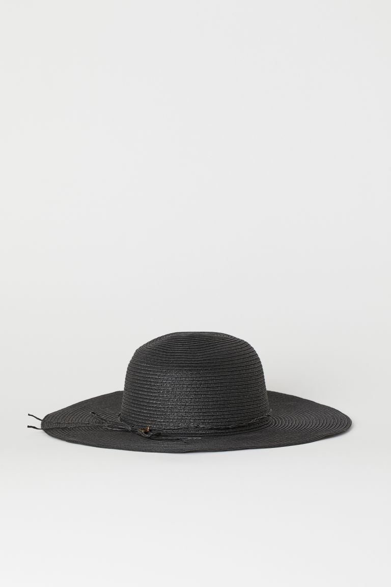 Straw Hat - Black - Ladies | H&M CA