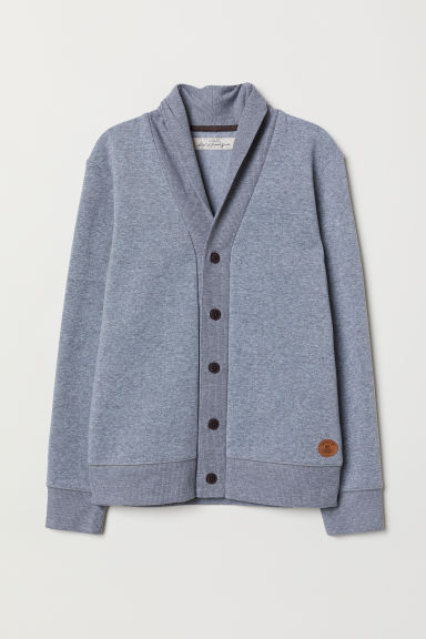 Cardigan - Grigio mélange -  | H&M IT
