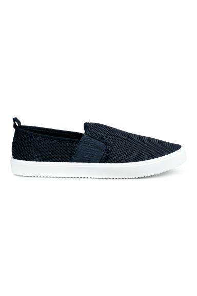 Sneakers slip-on - Blu scuro -  | H&M IT