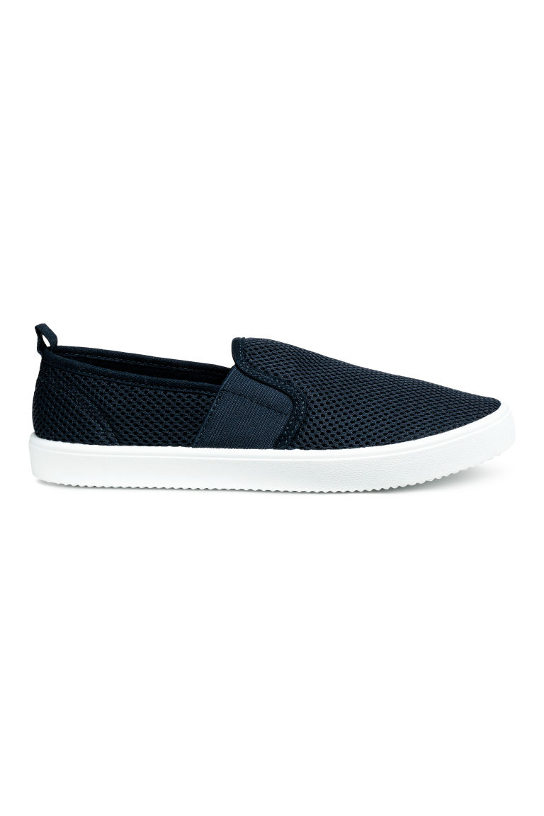 Slip-on sneakers - Donkerblauw - KINDEREN | H&M BE
