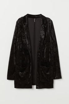 Crushed-velvet Jacket