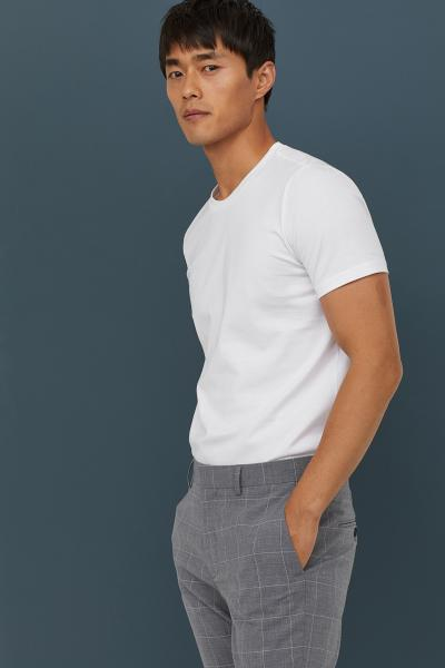 H&M - Camiseta en algodón premium - 4