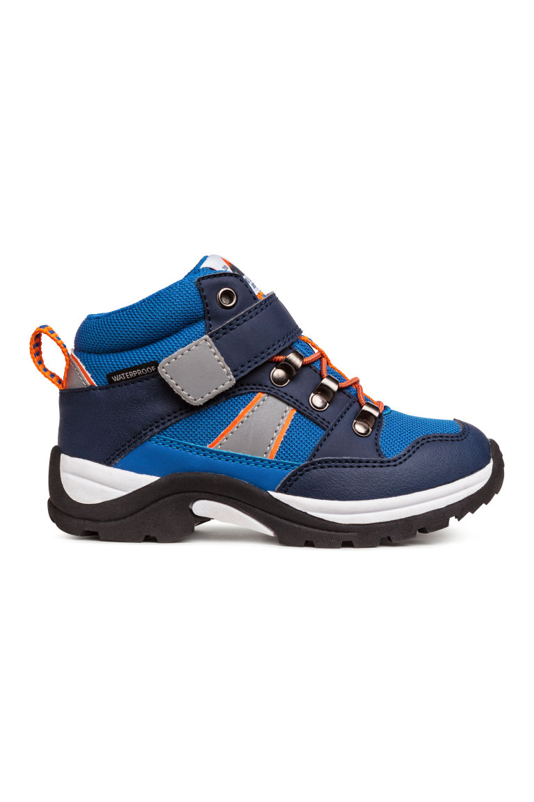 Waterproof boots - Bright blue/Dark blue - Kids | H&M