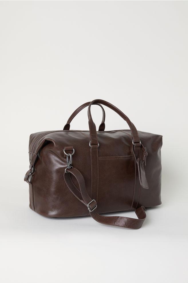 Leather Weekend Bag