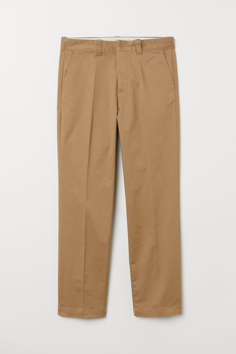 Chinos in cotone - Beige - UOMO | H&M IT