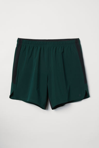Shorts da running - Verde scuro - UOMO | H&M IT