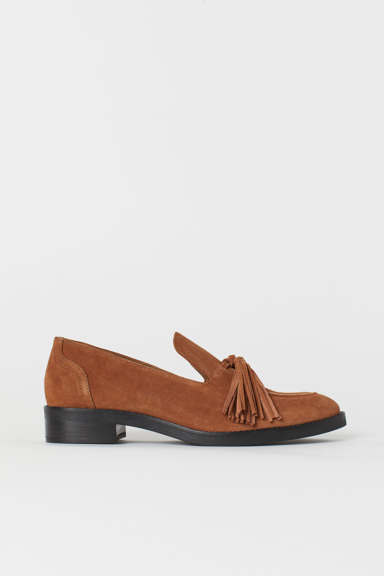 Tasselled loafers - Cognac brown - Ladies | H&M IE