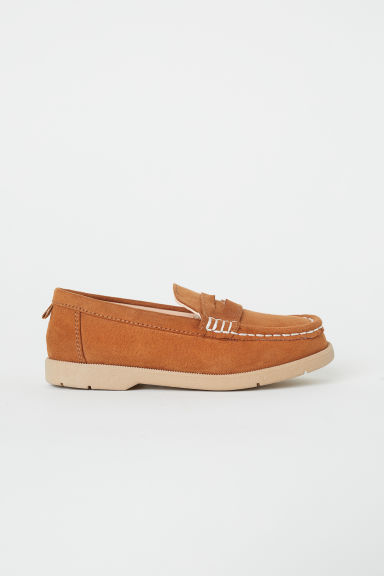 Loafers - Light brown -  | H&M