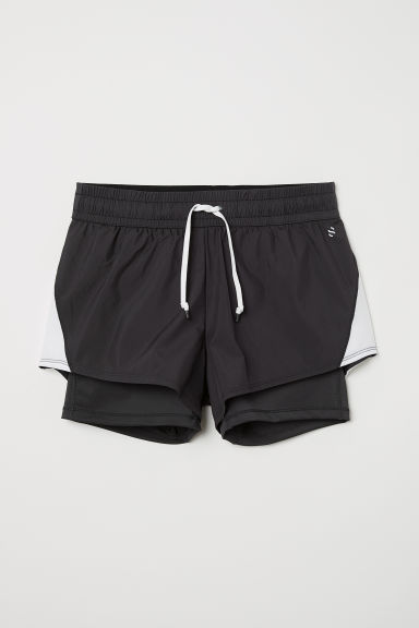 Running shorts - Black - Ladies | H&M