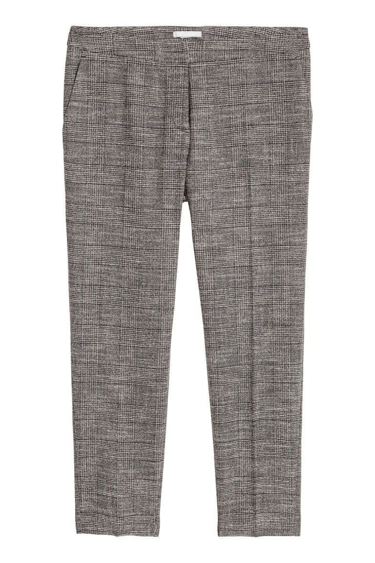 Suit trousers - Dark grey marl - Ladies | H&M