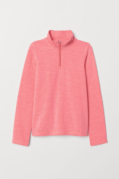 Top de sport - Rose chiné - ENFANT | H&M FR