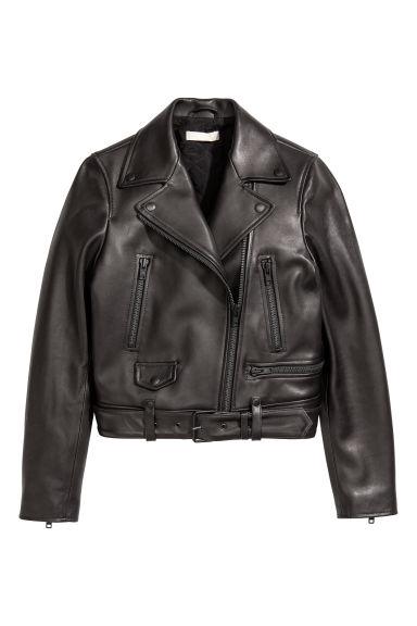 online store 088db 16653 Giubbotto biker in pelle