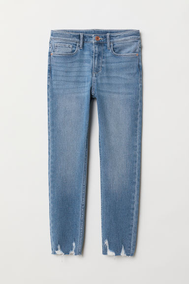 Relaxed Skinny Fit Jeans - Denim blue - Kids | H&M
