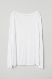 f321d67af8c58 Dámske topy s dlhými rukávmi – nakupujte online   H&M SK